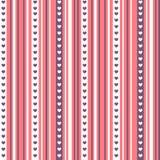 Όμορφα άνευ ραφής σχέδια έτοιμα για την ημέρα βαλεντίνων ` s Στοκ εικόνες με δικαίωμα ελεύθερης χρήσης