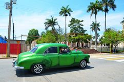 Όμορφα αμερικανικά αυτοκίνητα στην Κούβα Στοκ φωτογραφίες με δικαίωμα ελεύθερης χρήσης