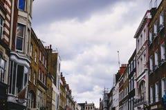 Όμορφα αρχιτεκτονική και κτήρια στο κεντρικό Λονδίνο σε ένα Ov Στοκ Φωτογραφίες