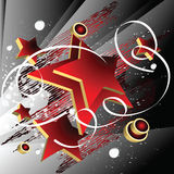 όμορφα αστέρια Στοκ φωτογραφία με δικαίωμα ελεύθερης χρήσης
