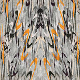 Όμορφα αφηρημένα κύματα σε ένα αναδρομικό ύφος στην γκρίζα διανυσματική απεικόνιση επίδρασης υποβάθρου grunge Στοκ φωτογραφία με δικαίωμα ελεύθερης χρήσης