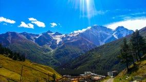 όμορφα βουνά Στοκ εικόνα με δικαίωμα ελεύθερης χρήσης