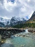 Όμορφα βουνά Altai Το Σεπτέμβριο του 2018 στοκ φωτογραφίες