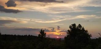 Όμορφα βράδια στοκ εικόνα με δικαίωμα ελεύθερης χρήσης