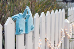Όμορφα γάντια κασμιριού για το χειμώνα Στοκ φωτογραφία με δικαίωμα ελεύθερης χρήσης