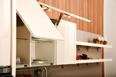 Γραφεία κουζινών Στοκ φωτογραφία με δικαίωμα ελεύθερης χρήσης