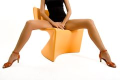 όμορφα θηλυκά πόδια Στοκ φωτογραφία με δικαίωμα ελεύθερης χρήσης