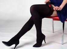 όμορφα θηλυκά πόδια Στοκ εικόνα με δικαίωμα ελεύθερης χρήσης