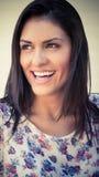 Όμορφα θηλυκά πρότυπα στάση και γέλιο μόδας Στοκ φωτογραφίες με δικαίωμα ελεύθερης χρήσης