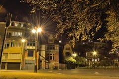 Όμορφα ιστορικά σπίτια στις Βρυξέλλες Στοκ Εικόνες
