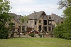 Όμορφα καινούργια σπίτια στοκ εικόνα