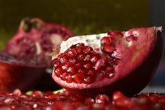 Όμορφα και χρήσιμα φρούτα γρανάτης Στοκ φωτογραφίες με δικαίωμα ελεύθερης χρήσης