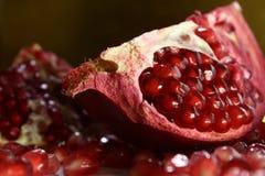 Όμορφα και χρήσιμα φρούτα γρανάτης στοκ φωτογραφία με δικαίωμα ελεύθερης χρήσης