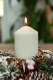 Όμορφα κεριά στο σπίτι Στοκ Φωτογραφία