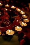 όμορφα κεριά Στοκ Εικόνες
