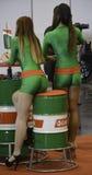 Όμορφα κορίτσια αεροσυνοδών Στοκ Φωτογραφίες