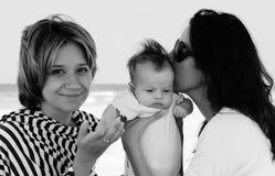 όμορφα κορίτσια δύο Στοκ φωτογραφίες με δικαίωμα ελεύθερης χρήσης