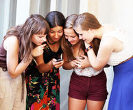 Όμορφα κορίτσια σπουδαστών Στοκ Εικόνες