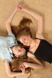 όμορφα κορίτσια στοκ εικόνα με δικαίωμα ελεύθερης χρήσης