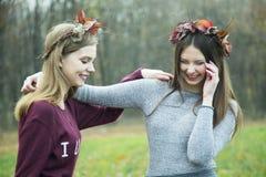 όμορφα κορίτσια Στοκ Φωτογραφία