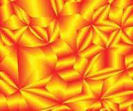 Όμορφα κρύσταλλα πυρκαγιάς r r r ελεύθερη απεικόνιση δικαιώματος