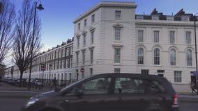 Όμορφα κτήρια στο Λονδίνο Millbank φιλμ μικρού μήκους
