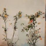Όμορφα λουλούδια και φυσικές εγκαταστάσεις Floral υπόβαθρο λουλουδιών Garden Ελεύθερη απεικόνιση δικαιώματος