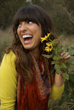 όμορφα λουλούδια που μ&upsil Στοκ φωτογραφία με δικαίωμα ελεύθερης χρήσης