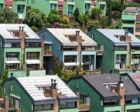 Όμορφα μικρά σπίτια Στοκ φωτογραφία με δικαίωμα ελεύθερης χρήσης