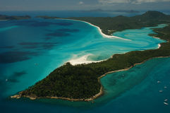 όμορφα μπλε Queensland της Αυστρα&l Στοκ Εικόνα