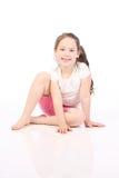 όμορφα πέντε έτη κοριτσιών Στοκ Φωτογραφίες