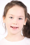 όμορφα πέντε έτη κοριτσιών Στοκ Εικόνα