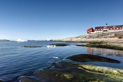 Όμορφα παγόβουνα στη Γροιλανδία 15 μπορέστε 2016 Στοκ εικόνες με δικαίωμα ελεύθερης χρήσης