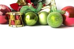 Όμορφα παιχνίδια για το χριστουγεννιάτικο δέντρο Στοκ Φωτογραφίες