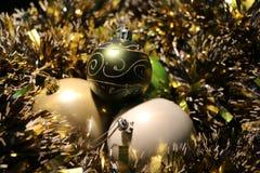 Όμορφα παιχνίδια Χριστουγέννων Στοκ εικόνα με δικαίωμα ελεύθερης χρήσης