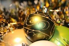 Όμορφα παιχνίδια Χριστουγέννων Στοκ φωτογραφίες με δικαίωμα ελεύθερης χρήσης