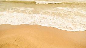Όμορφα παραλία & x28 άμμου sandy& x29  Στοκ Εικόνες