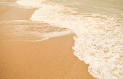 Όμορφα παραλία & x28 άμμου sandy& x29  Στοκ εικόνα με δικαίωμα ελεύθερης χρήσης