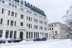 Όμορφα παλαιά κτήρια στη Sofia, Βουλγαρία Στοκ Φωτογραφία