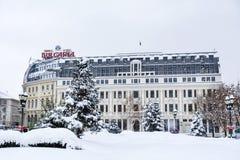 Όμορφα παλαιά κτήρια στη Sofia, Βουλγαρία Στοκ φωτογραφία με δικαίωμα ελεύθερης χρήσης