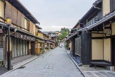Όμορφα παλαιά σπίτια στην οδό ninen-Zaka, Κιότο, Ιαπωνία. Στοκ φωτογραφία με δικαίωμα ελεύθερης χρήσης