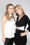 όμορφα πορτρέτα δύο κοριτ&sigma Στοκ φωτογραφία με δικαίωμα ελεύθερης χρήσης