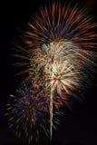 όμορφα πυροτεχνήματα παρ&omicro Στοκ Φωτογραφία