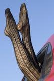 όμορφα πόδια θηλυκών Στοκ Εικόνα