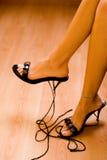 όμορφα πόδια Στοκ Εικόνα