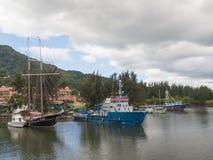 Όμορφα σκάφη Στοκ εικόνες με δικαίωμα ελεύθερης χρήσης