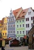 Όμορφα σπίτια Γερμανία αναγέννησης Στοκ φωτογραφίες με δικαίωμα ελεύθερης χρήσης