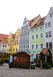 Όμορφα σπίτια Γερμανία αναγέννησης Στοκ Εικόνα