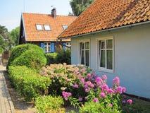 Όμορφα σπίτια, Λιθουανία Στοκ εικόνα με δικαίωμα ελεύθερης χρήσης