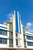Όμορφα σπίτια στο ύφος του Art Deco Στοκ φωτογραφίες με δικαίωμα ελεύθερης χρήσης